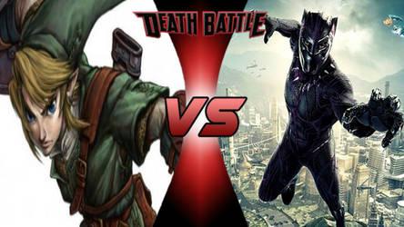 Death Battle: Link vs Black Panther by lightyearpig