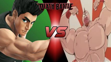Death Battle: Little Mac vs Kinnikuman by lightyearpig