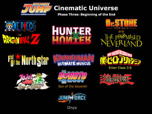Shonen Jump Cinematic Universe Phase 3: BotE