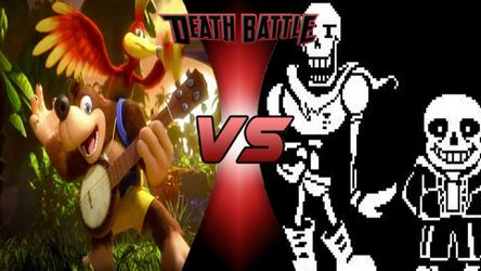 Death Battle: Banjo-Kazooie vs Sans And Papyrus