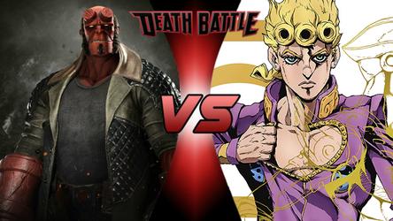 Death Battle: Hellboy vs Giorno