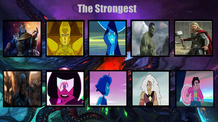 Strongest Marvel Gems Characters Vol. 1