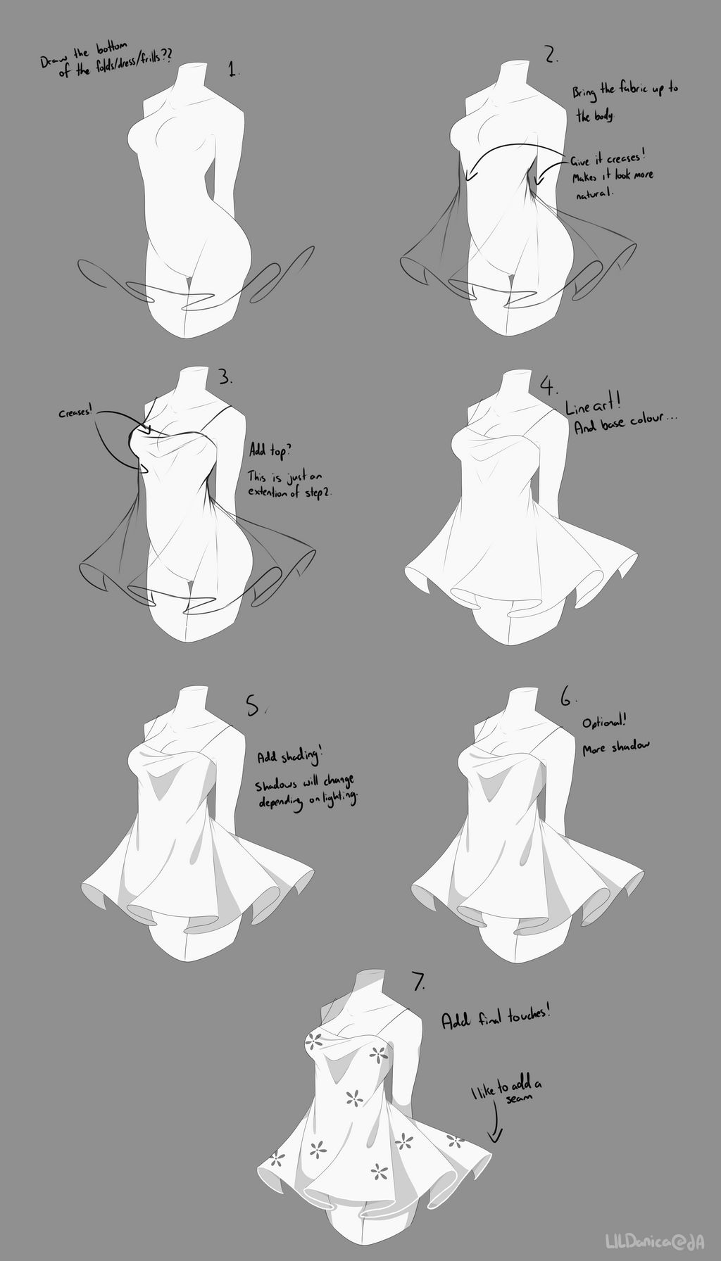 It is an image of Lucrative Drawing Clothes Tutorial