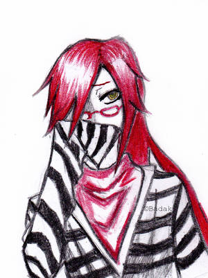 Grell x Male(Reader) A Knight in Chaos (clean) by lovegrell21 on