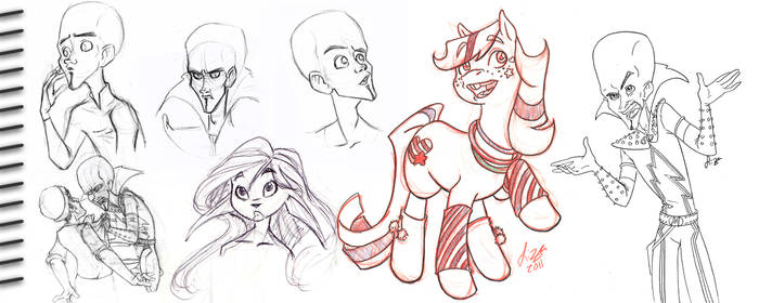 sketch dump 04 by dollyolly1