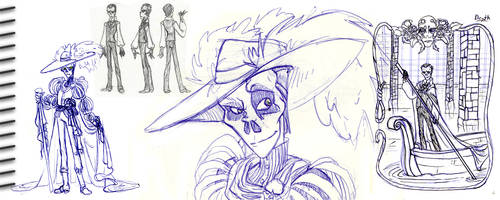 sketch dump 05 by dollyolly1