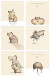 Hamster Rat T Rex by hutami-dwijayanti