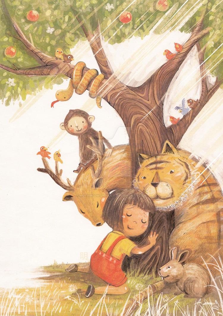 Be Friend with World by hutami-dwijayanti