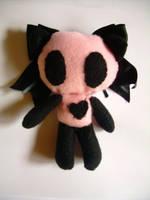 Crossed Heart Panda by sabby64