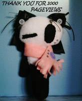 1000 Pageviews- Chloe Panda by sabby64