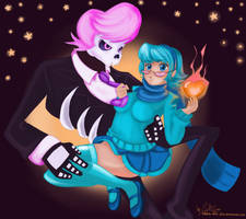 Vivi and Lewis by hearts-and-pins