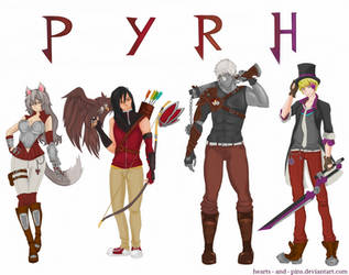 Team PYRH by hearts-and-pins
