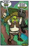 Shrek vs Jason Fan Art