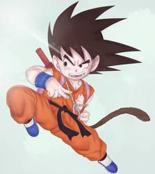 Goku by Ota-ku