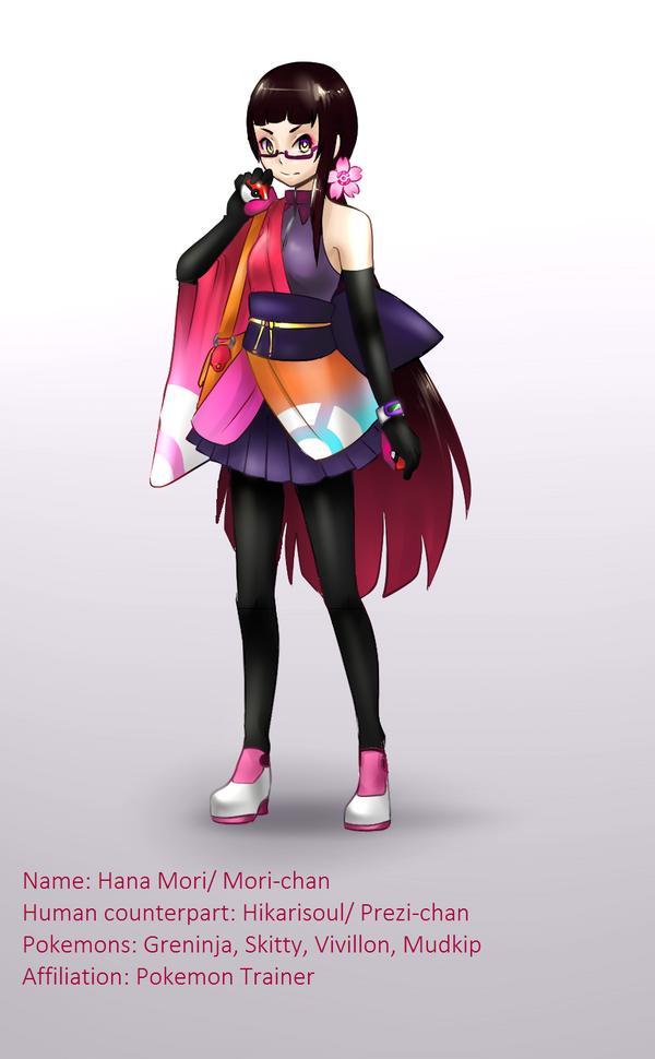 POKEMON TRAINER : Mori by Hikarisoul2