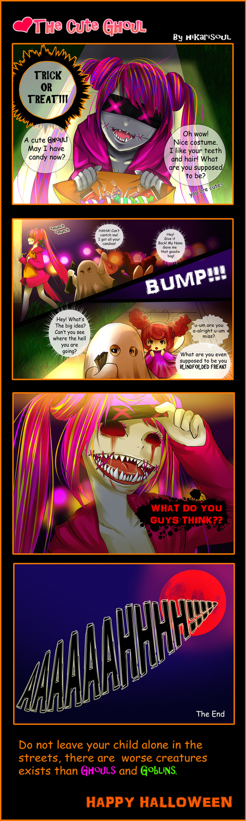 BE-LATED HALLOWEEN: THE CUTE GHOUL by Hikarisoul2