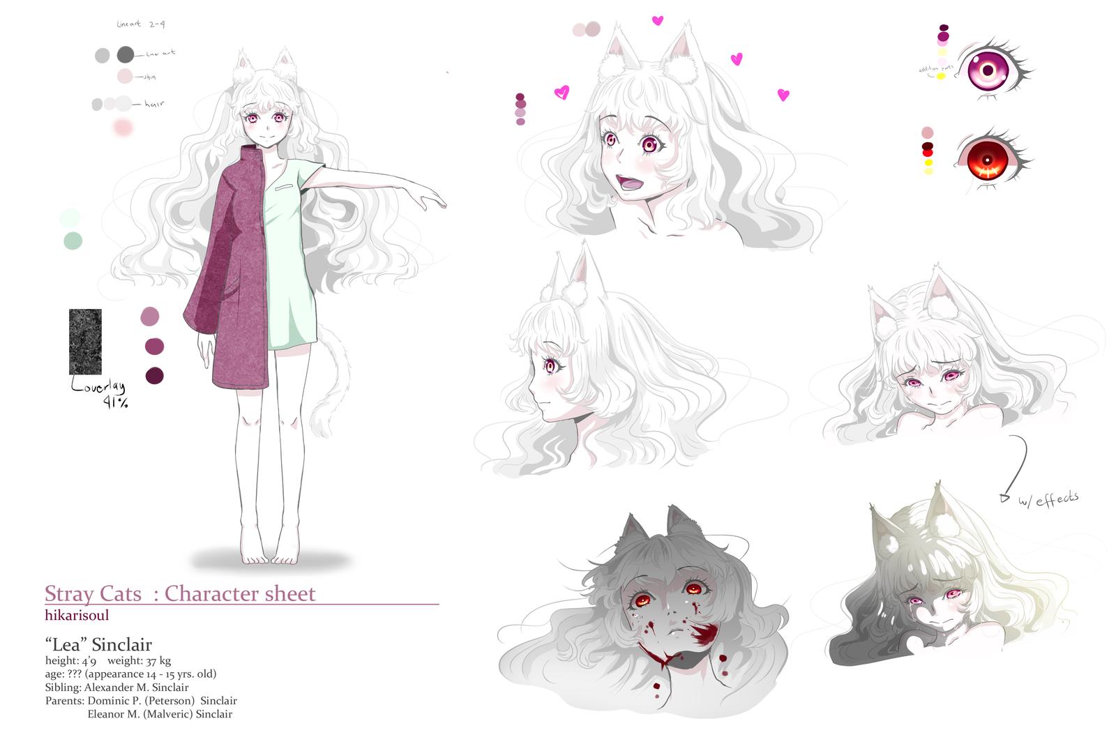 Lea Sinclair Profile by Hikarisoul2