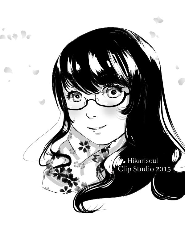CLIP STUDIO TEST: Self portrait by Hikarisoul2