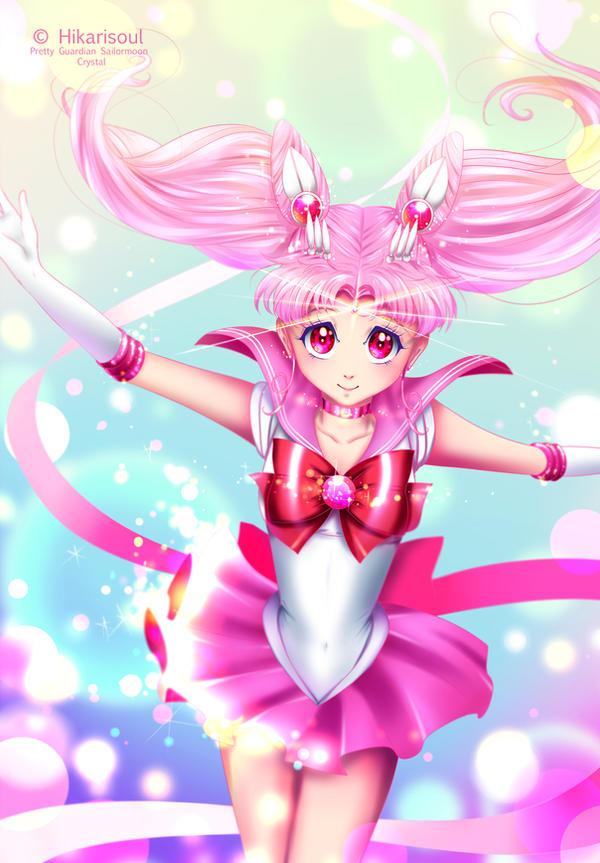 Transformation Series: Sailor Chibi Moon by Hikarisoul2