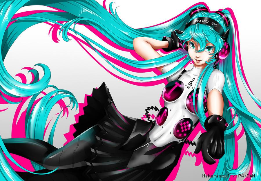 P4 DAN: Hatsune Miku by Hikarisoul2
