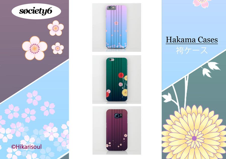 S6 MERCH: HAKAMA CASES by Hikarisoul2