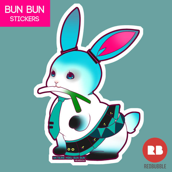 [BUN BUN] Character Bun : Hatsune Miku by Hikarisoul2