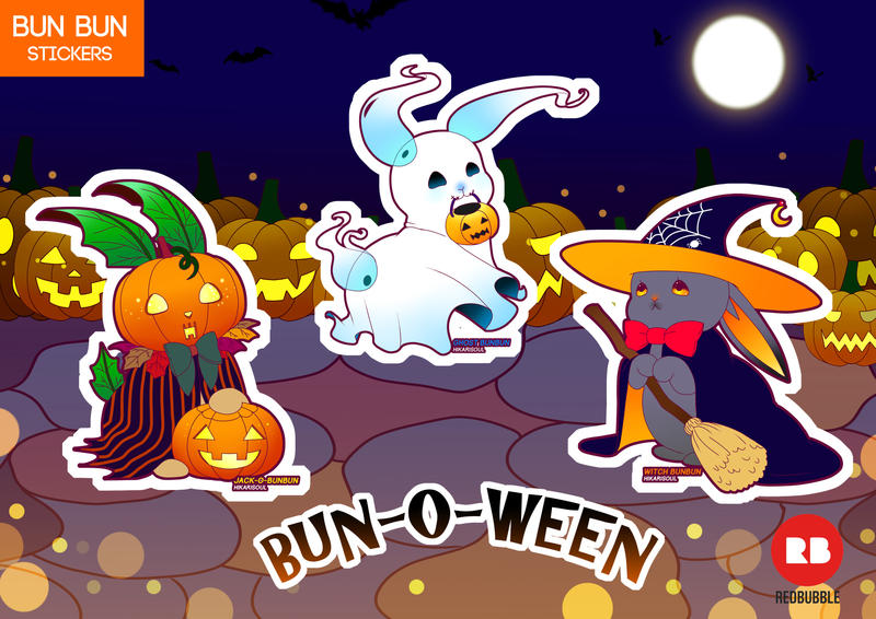 [BUN BUN] BUN-O-WEEN by Hikarisoul2