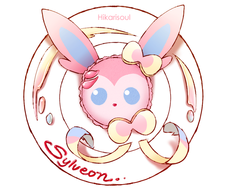 POKENOM: Sylveon Macaron by Hikarisoul2