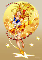 [RB/Fan Art] Sailormoon: Super Sailor Venus by Hikarisoul2