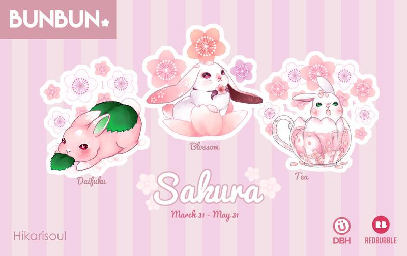 [RB/DBH/ Originals ]  BUNBUN: Sakura by Hikarisoul2