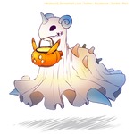 [Charity Art] Charity Guild: Ghost Lapras