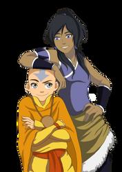 ATLA: The Avatars by momofukuu