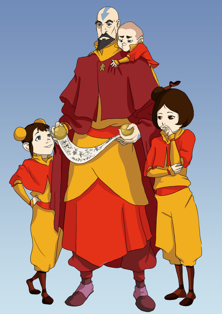 ATLA: Airbend Scroll by momofukuu