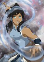 Avatar Korra by momofukuu