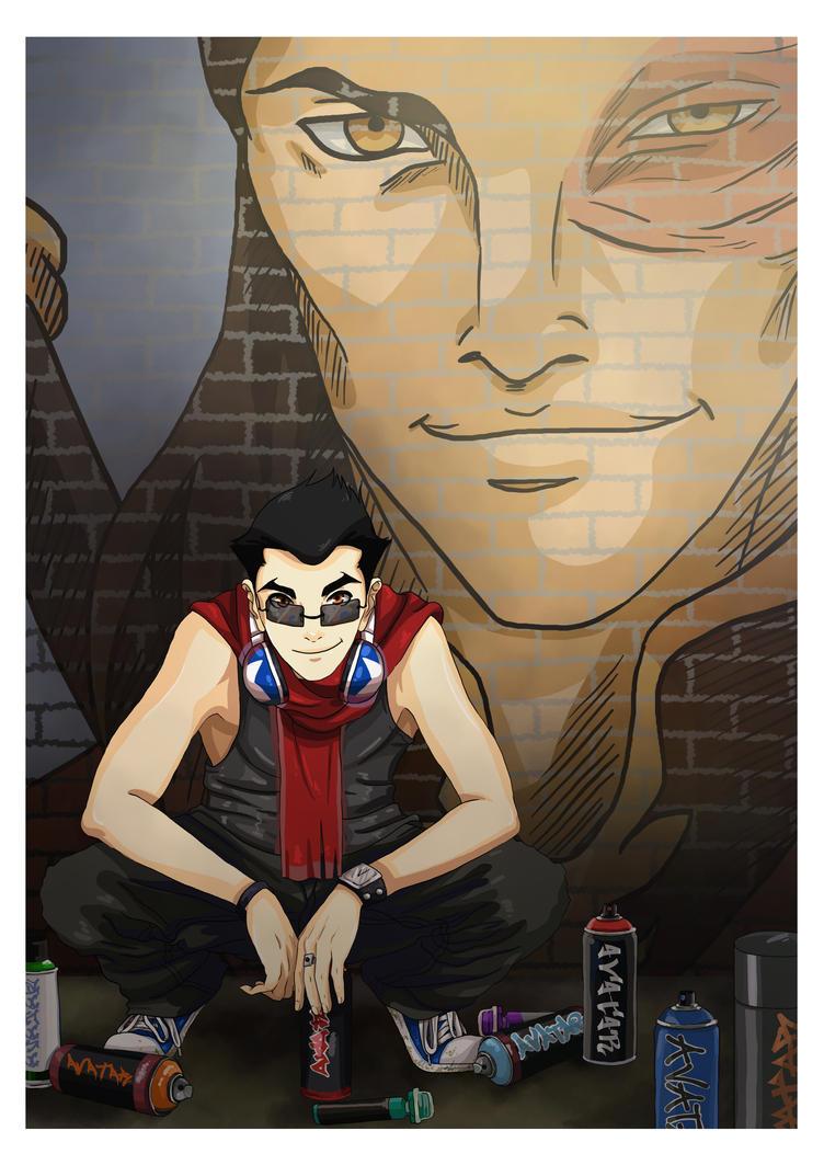 LOK: Graffiti 2 by momofukuu