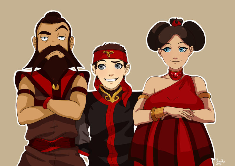 ATLA: The Fire Family by momofukuu