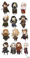 Chibi Zodiac Dwarves
