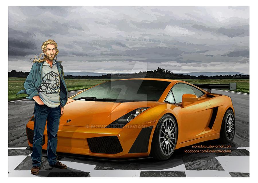 The Hobbit: Lamborghini Gallardo by momofukuu
