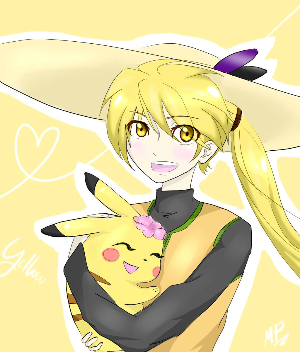 Yellow~Pokemon Adventures by LamaestraPokemonXD on