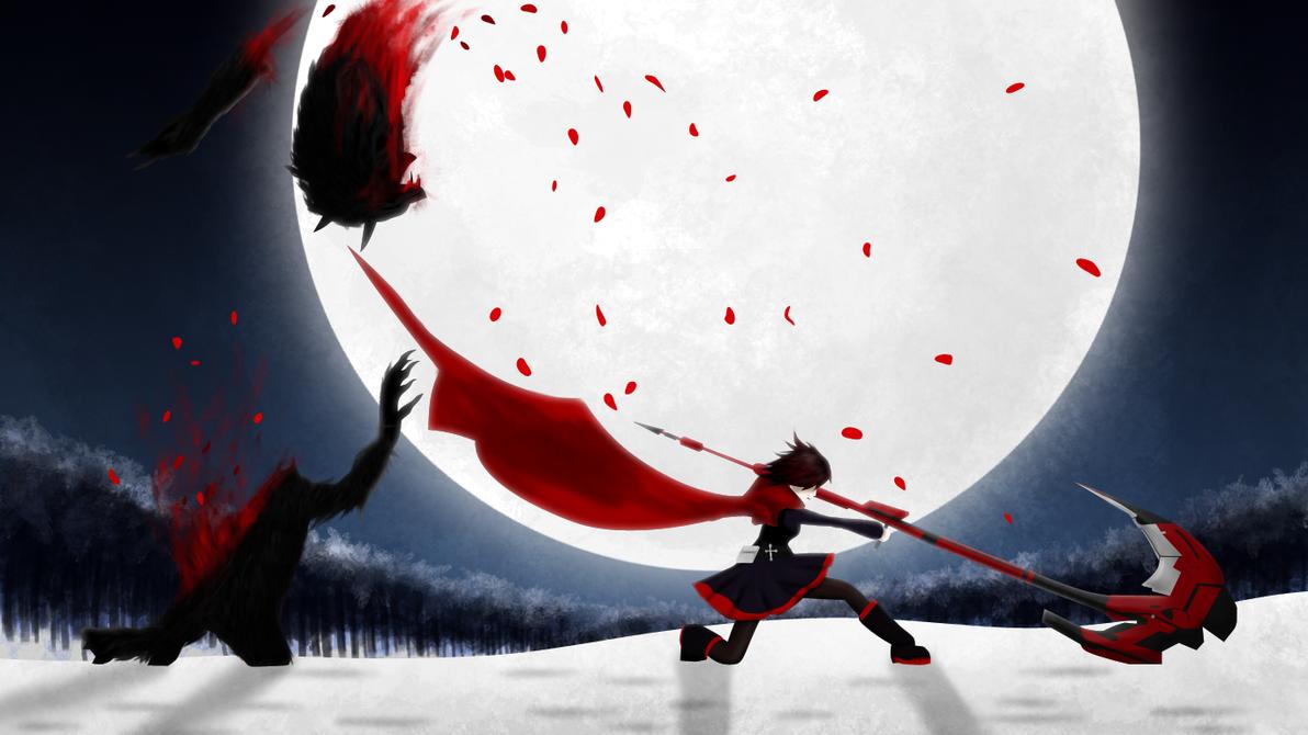 Red RWBY Wallpaper by StylishKira