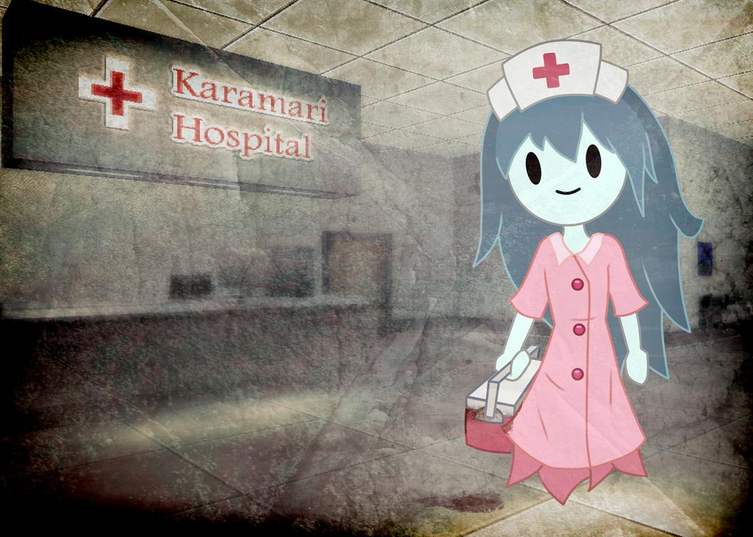 Spookys house of jumpscare e621 - Spooky Karamari Hospital Poster By Stylishkira