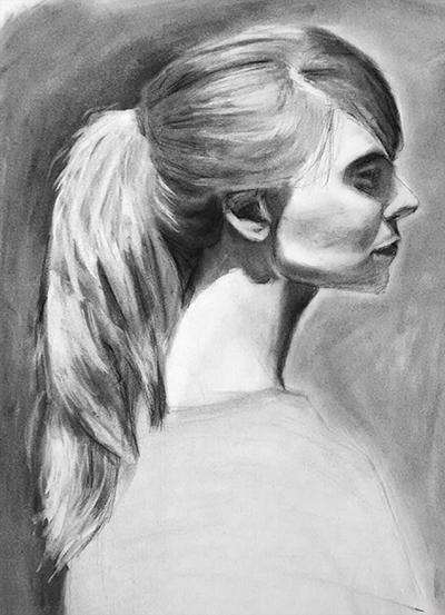 Light Hair Study by StylishKira