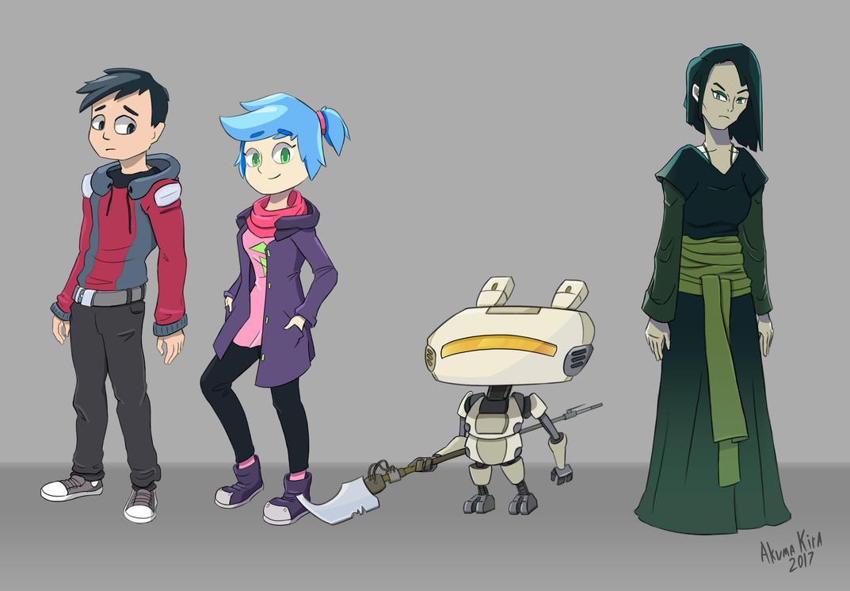 Character Design University : School sci fi character designs by stylishkira on deviantart