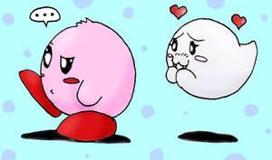 Kirby and Boo