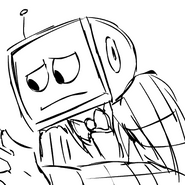 TV Head Yes Man Emotes by MissyZero