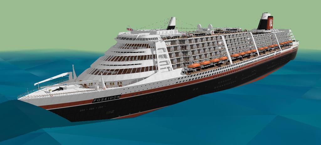 Poseidon 2006 Cruise Ship Sketchup By Kyle Hydak By Jakanddaxter01 On Deviantart