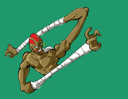 Dhalsim is stretchy WIP by enemydownbelow