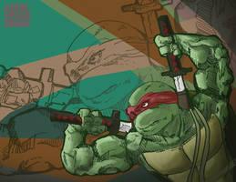 Leonardo TMNT by enemydownbelow