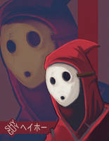 Shy Guy by enemydownbelow