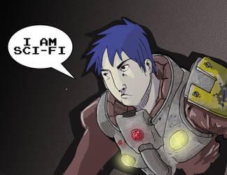 I am Sci Fi by enemydownbelow